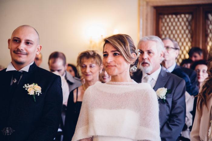 matrimonio a venezia la sposa si commuove