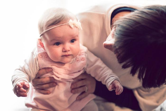 Bianca, servizio fotografico bebè a San Pietro Incariano, Verona, Valpolicella