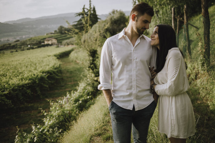 Servizio di coppia in Valpolicella