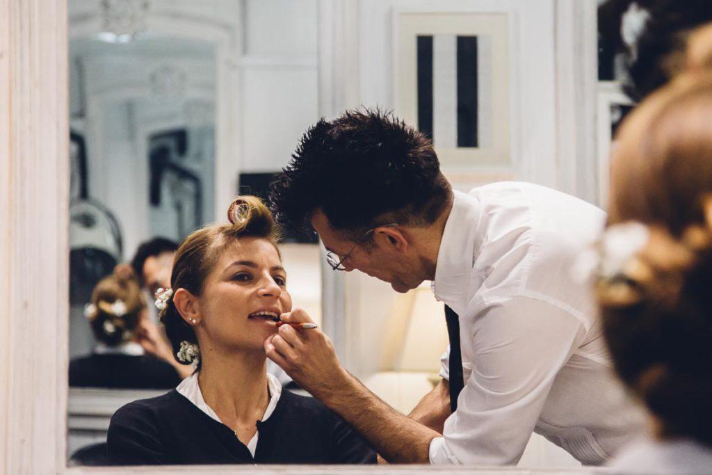matrimonio a Venezia, preparazione sposa
